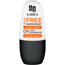 AA Men Alu Free deo roll on Mineral Care 50ml
