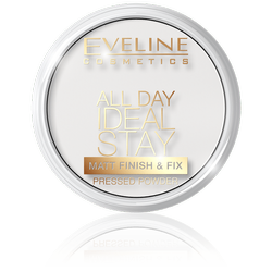 EVELINE All Day Ideal Stay puder utrwalający 60 White 12g