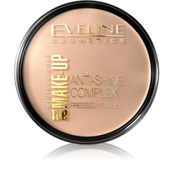 EVELINE Art Make Up Anti-Shine Complex matujący puder mineralny z Jedwabiem 34 14g