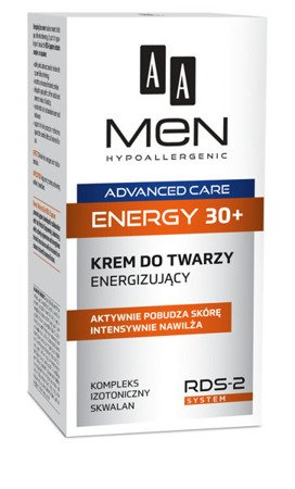 AA Men Advanced Care Energy 30+  energizujący krem do twarzy 50ml