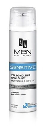 AA Men Sensitive nawilżający żel do golenia 200ml