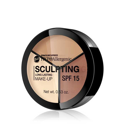BELL HypoAllergenic Sculpting Long Lasting Make-up SPF15 02 10g