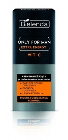 BIELENDA Only For Man Extra Energy krem Nawilżający 50ml