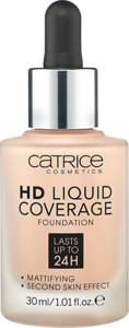 CATRICE HD Liquid Coverage Foundation podkład 010 Light Beige 30ml